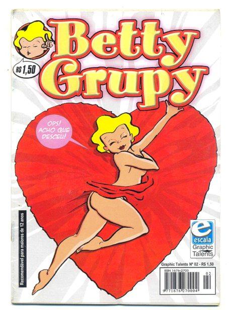 GRAPHIC TALENTS n°02 - BETTY GRUPY