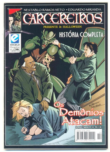 GRAPHIC TALENTS n°14 - CARCEREIROS - OS DEMÔNIOS ATACAM!