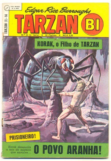 TARZAN-BI 1ª SÉRIE nº14 - EDITORA EBAL