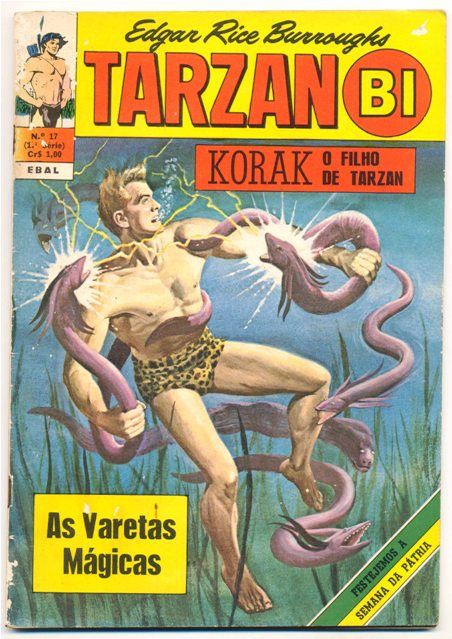 TARZAN-BI 1ª SÉRIE nº17 - EDITORA EBAL