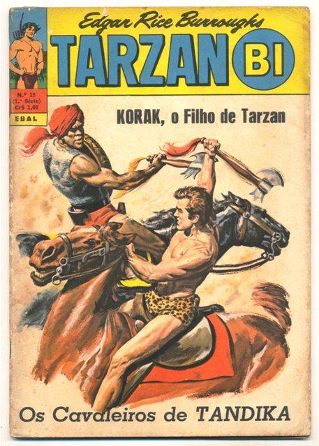 TARZAN-BI 1ª SÉRIE nº19 - EDITORA EBAL