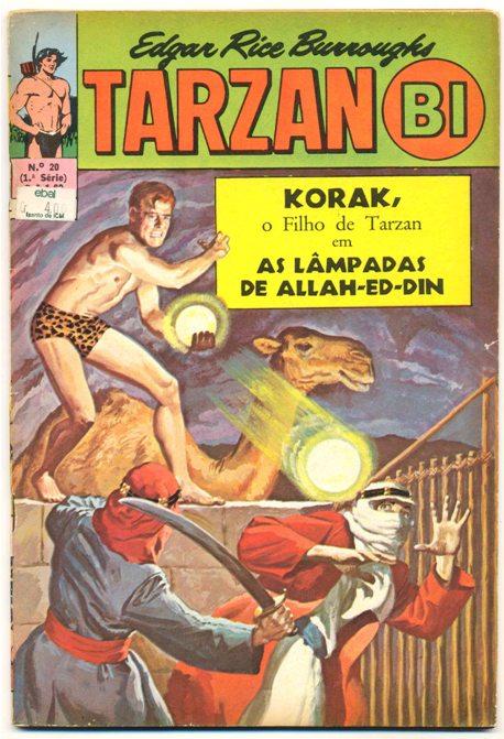 TARZAN-BI 1ª SÉRIE nº20 - EDITORA EBAL