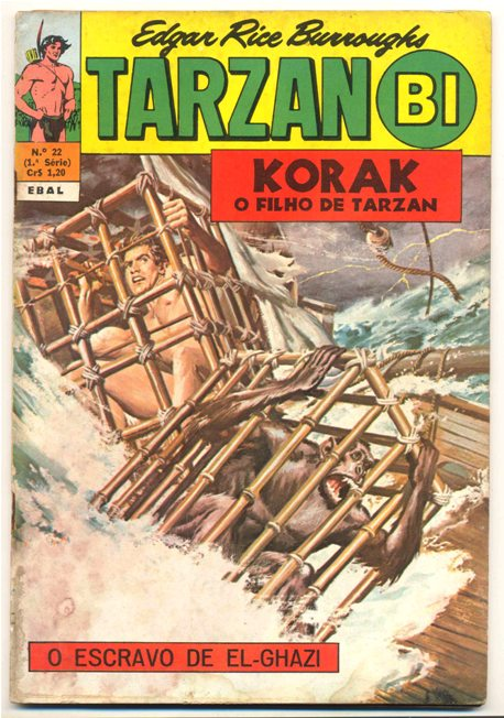 TARZAN-BI 1ª SÉRIE nº22 - EDITORA EBAL