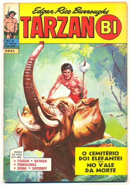 TARZAN-BI 1ª SÉRIE nº24 - EDITORA EBAL