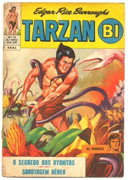 TARZAN-BI 1ª SÉRIE nº36 - EDITORA EBAL