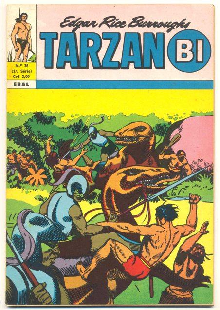 TARZAN-BI 1ª SÉRIE nº38 - EDITORA EBAL