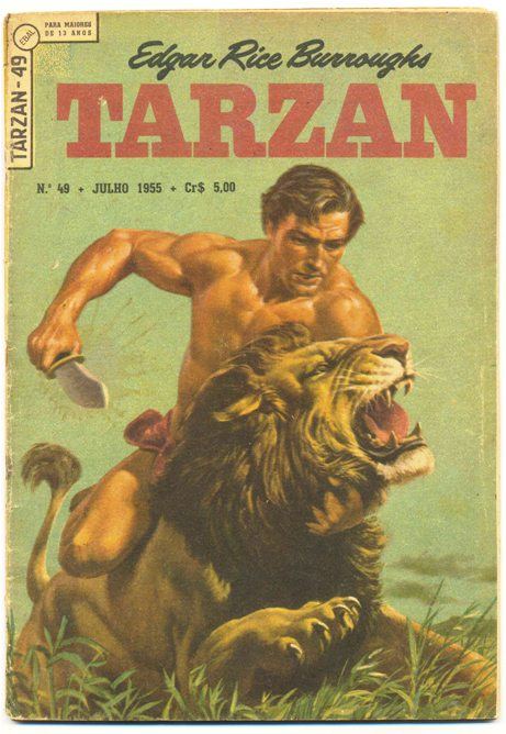 TARZAN 1ª SÉRIE nº049 - EDITORA EBAL