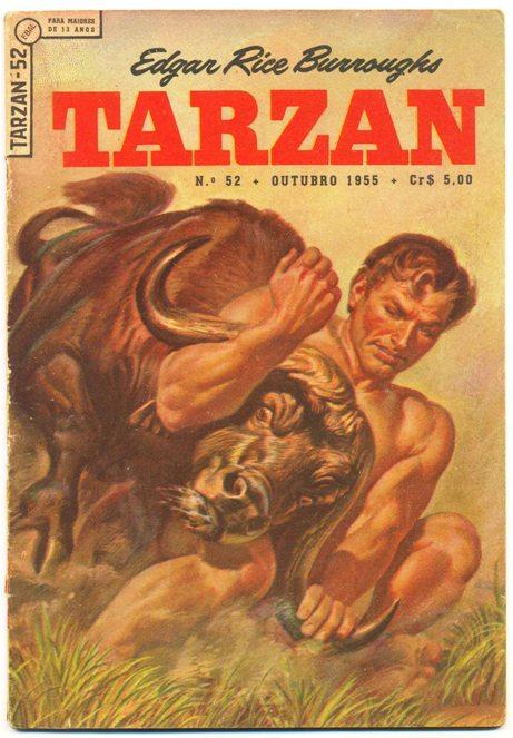 TARZAN 1ª SÉRIE nº052 - EDITORA EBAL