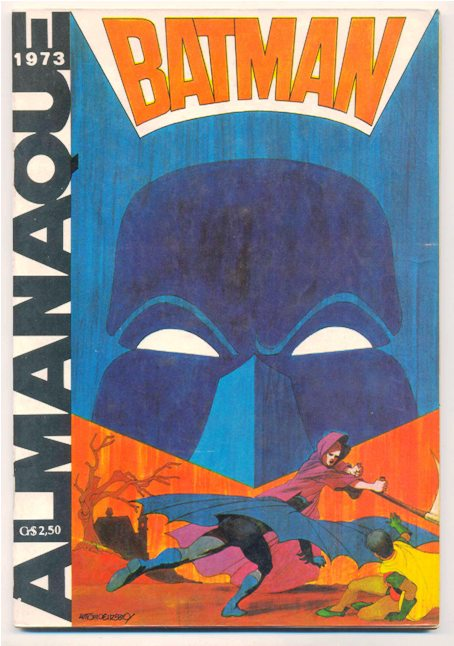 ALMANAQUE DO BATMAN DE 1973 - EBAL