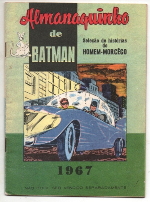 ALMANAQUINHO DO BATMAN DE 1967 - EDITORA EBAL