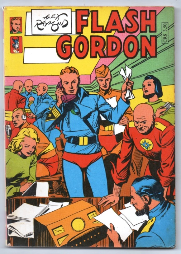 FLASH GORDON nº15 - EDITORA PALADINO
