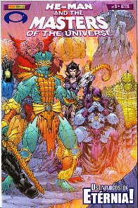 HE-MAN END THE MASTERS OF THE UNIVERSE n�03 - EDITORA PANINI