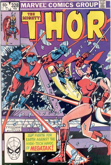 THE MIGHTY THOR #328
